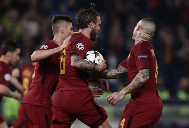 De Rossi puso el 2-0 en el marcador / Foto: UEFA