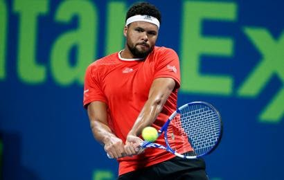 Tsonga is forced to compete in Doha due to only two players per country for the ATP Cup/Photo: AFP