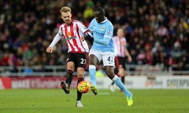 Kirchhoff's display against Man City was as refreshing as Allardyce's formation change.   Photo: Getty