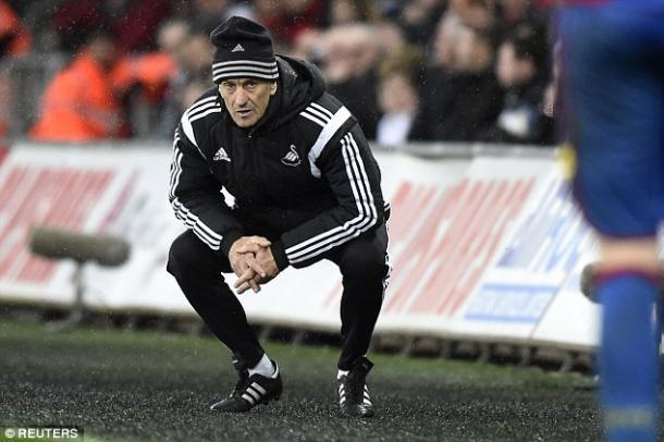 Guidolin durante su etapa en el Swansea. Foto: Reuters