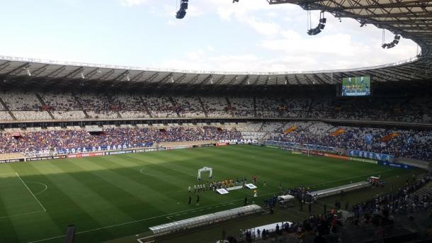 Público no Mineirão para Cruzeiro x Ponte. #CruVAVEL #PonVAVEL