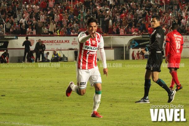 El jugador más peligroso de anoche | Foto: Leonardo Aguilar