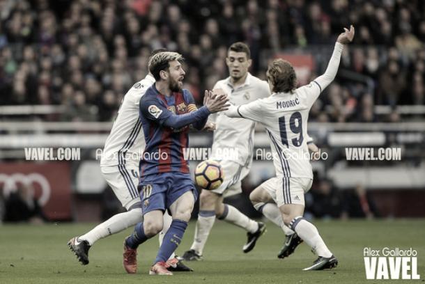 El Real Madrid se impuso con solvencia al Barça en la Supercopa de España   Foto: Alex Gallardo (VAVEL)