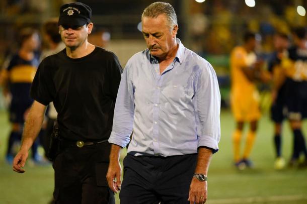 En su paso por Boca, Alfaro obtuvo una Supercopa.