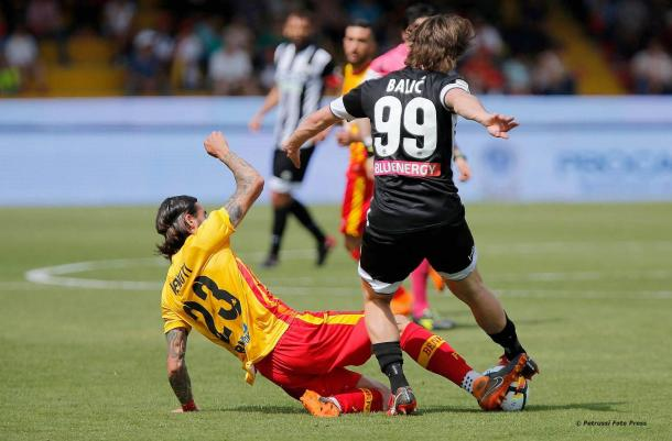 Balic in azione - Fonte: Udinese Calcio 1896/ Facebook.