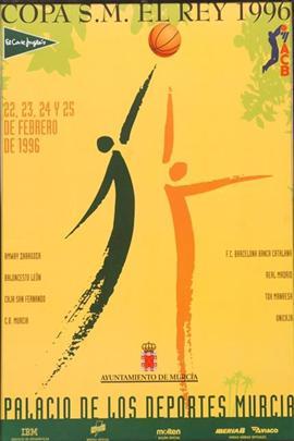 Cartel de la Copa del Rey de 1996 | Foto: feb.es