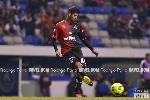(Luis Robles en el primer partido de Copa MX ante Puebla | Foto: Rodrigo Peña / VAVEL)