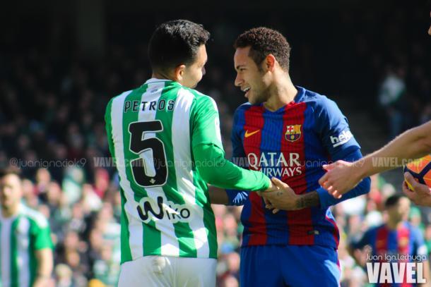 Neymar durante un partido de Liga. Foto: VAVEL.