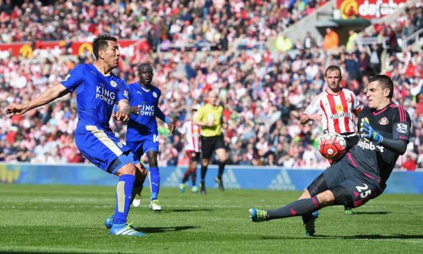 Manning kept Sunderland in the game at 1-0 with some brilliant saves (Photo: TGSPhoto: Shutterstock)
