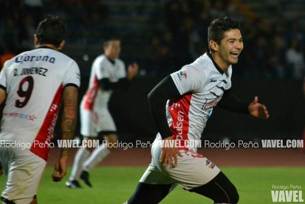 Omar Marrufo en festejo de gol durante el duelo ante Tampico Madero | Foto: Rodrigo Peña VAVEL