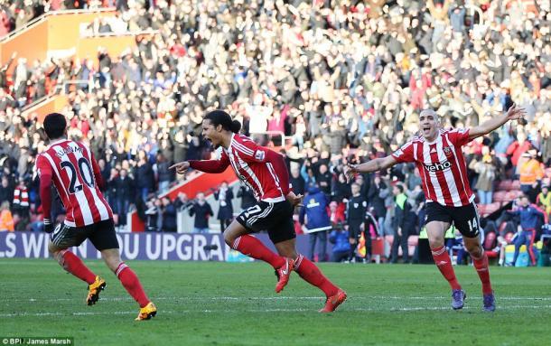 Virgil van Dijk's late effort denied Sunderland three points at the weekend. | Photo: BPI