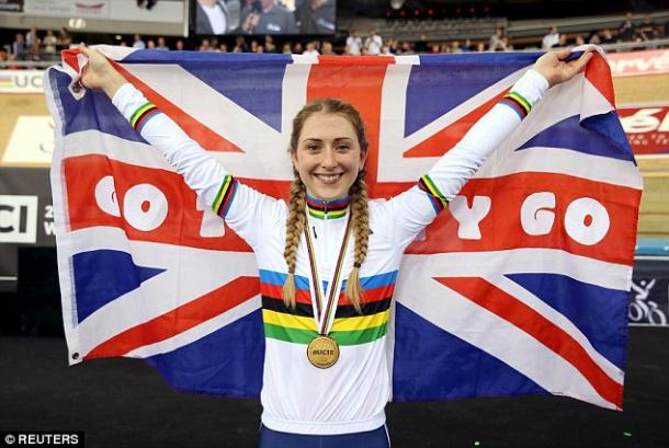Trott already has her sights set on Olympic glory now, after yesterday's win. | Photo: Reuters