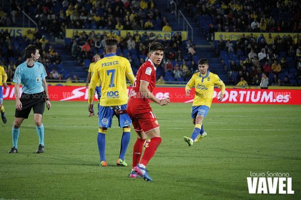 Joaquín Correa rompió el cero. Foto: Laura Santos-VAVEL-.