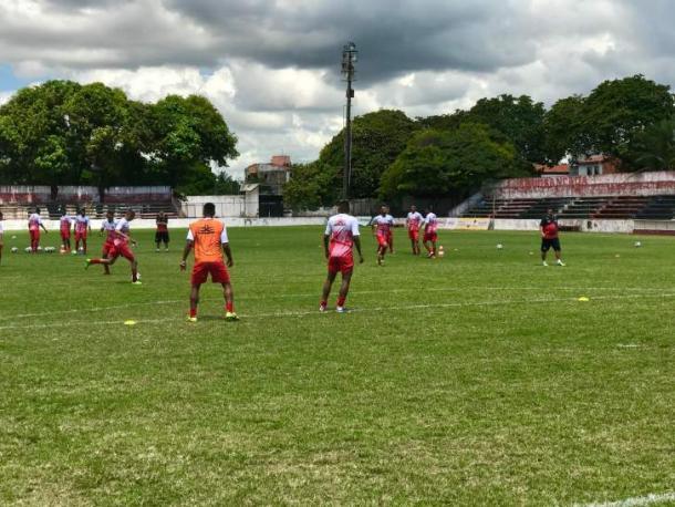 Ferroviário tem novo técnico e novos jogadores para o jogo de volta da Copa do Brasil (Foto: divulgação/Ferroviário)