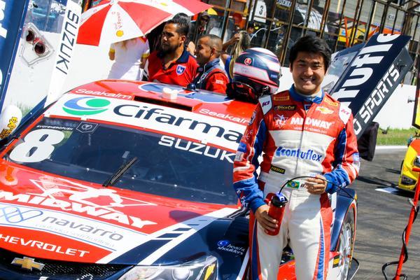 Suzuki sofre punição na corrida 2. (Foto: Divulgação)