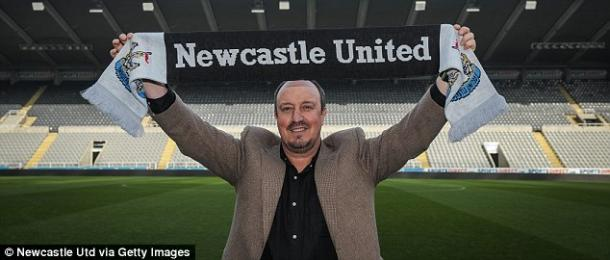 Rafa Benitez faces a stern test in his first Newcastle fixture. | Photo: Newcastle United FC