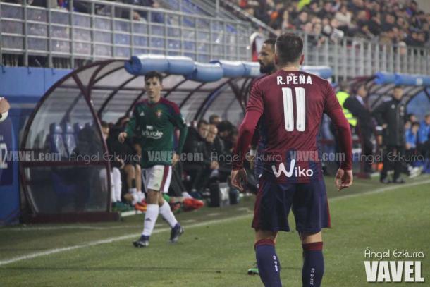 Rubén Peña, en un encuentro en la temporada pasada | Ángel Ezkurra - VAVEL