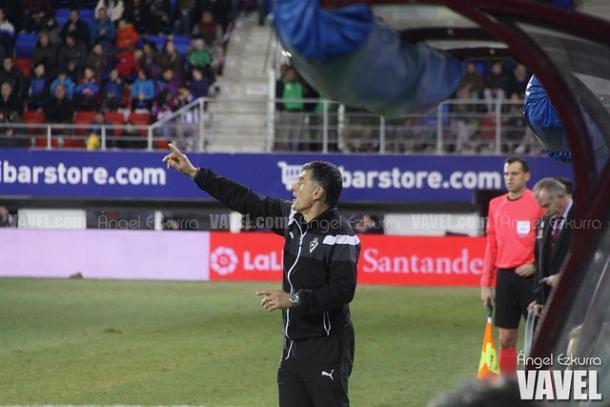 Mendilibar cuenta con la confianza de Albistegui. Foto: Ángel Ezkurra-VAVEL-.