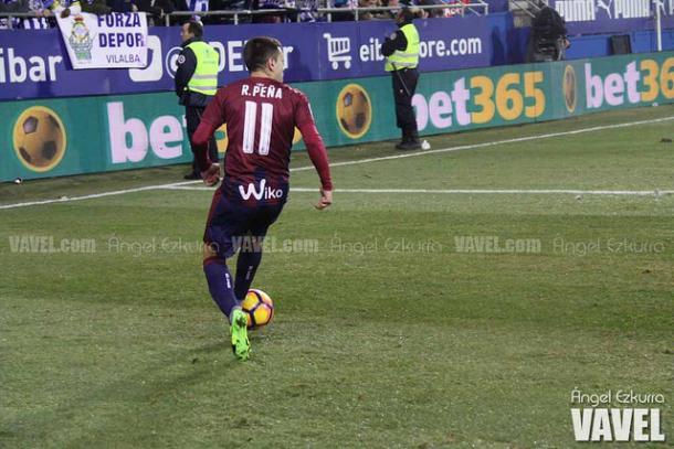 Rubén Peña, en un encuentro | Ángel Ezkurra - VAVEL