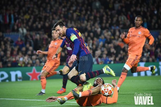 El Barcelona se impuso 4-1 ante el Lyon | Foto: Noelia Déniz - VAVEL