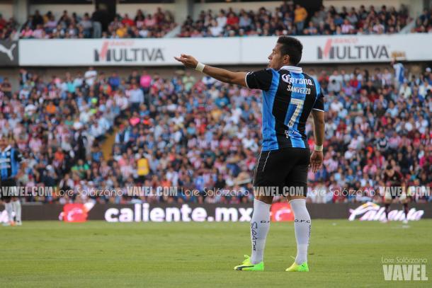 Sanvezzo volvió de gran manera tras su lesión en la rodilla | Foto: VAVEL