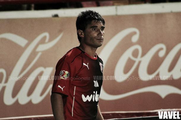 (Matías es el goleador del equipo rojinegro | Foto: Diego Topete)