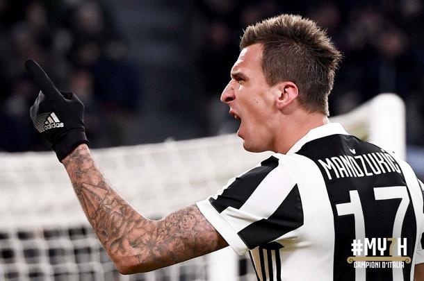 Mandzukic puede salir del Allianz Stadium / Foto: Juventus