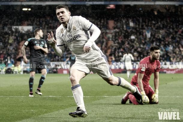 Kovacic celebra un gol ante la Real Sociedad   Foto: VAVEL