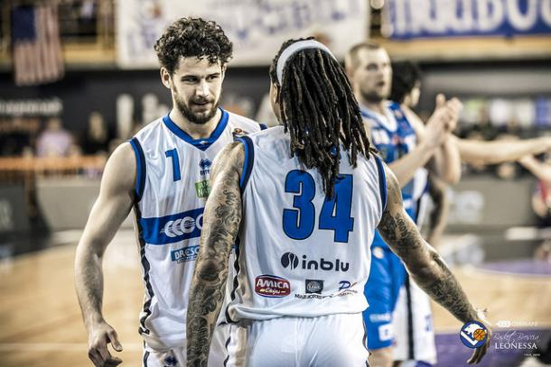Luca Vitali e Moss. | Fonte immagine: Leonessa Brescia