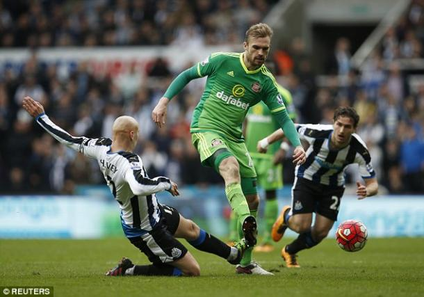 Kirchhoff had his first taste of derby day on Sunday. (Photo: Reuters)