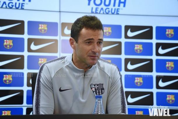 Denis Silva, entrenador del Juvenil A. FOTO: Noelia Déniz