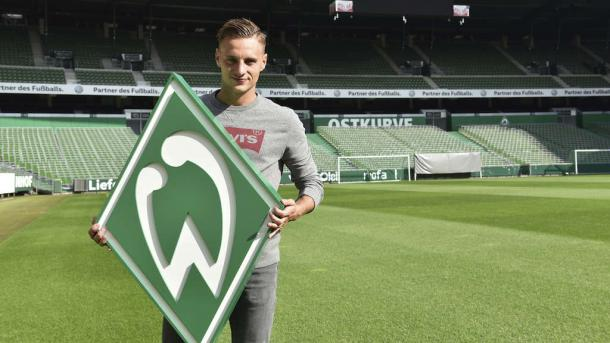 Robert Bauer could make his debut for Bremen on Friday. | Photo: Kreiszeitung/Nordphoto