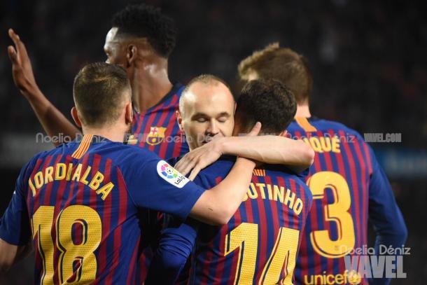 El Barcelona termina la temporada con victoria | Foto: Noelia Déniz - VAVEL