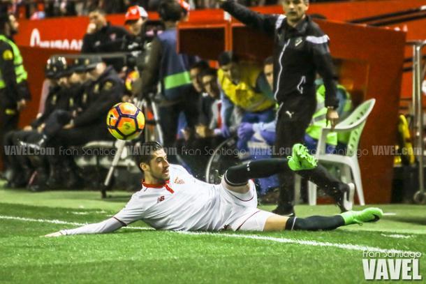 El Sevilla, invicto ante Eibar en la 2016-2017. Foto: Fran Santiago-VAVEL-.