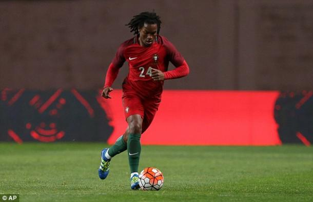 Renato estreou-se pela selecção frente à Bulgária // Foto: dailymail.co.uk
