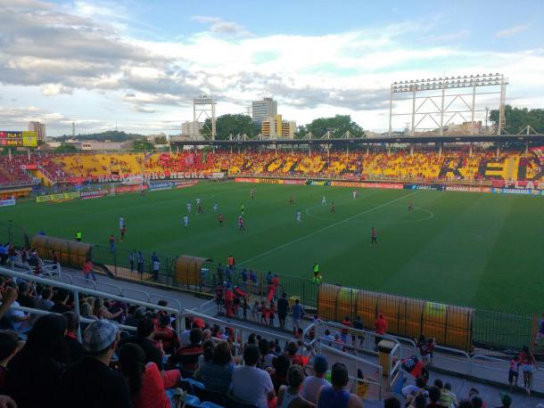 Estádio recebeu jogos do Flamengo do Carioca, Copa do Brasil e Brasileirão | Foto: Pedro Henrique Guimarães/VAVEL Brasil