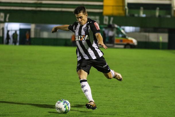 Leonan atuando pelo Atlético-MG (Foto: Bruno Cantini/Atlético-MG)