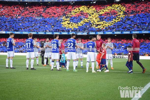 Última jornada de Liga en el Camp Nou | Foto: Noelia Déniz - VAVEL