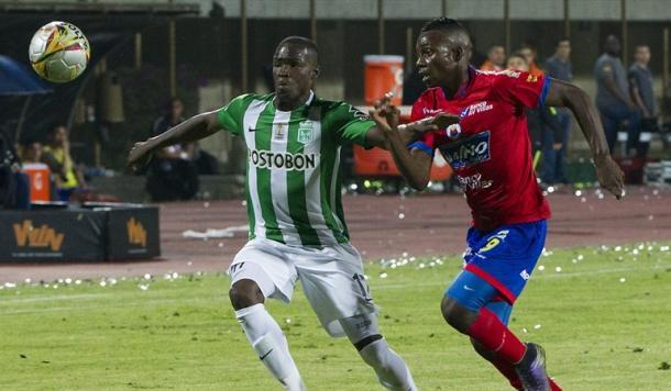 El último Nacional-Pasto fue en el Estadio Ditaires, ganó 3-1 el 'verde'. | Foto: Colprensa