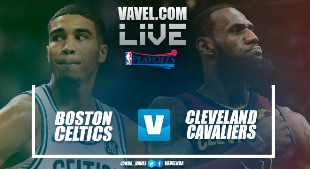 Cleveland Cavaliers y Boston Celtics se medirán en el quinto partido de la serie. Montaje: Santiago Arxé Carbona (VAVEL)
