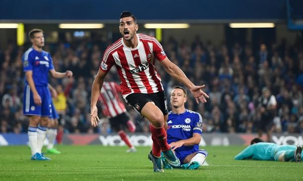Southampton ran riot at Stamford Bridge back in October, managing a 3-1 win. They will hope to win to nil this time, however. | Photo: The Guardian
