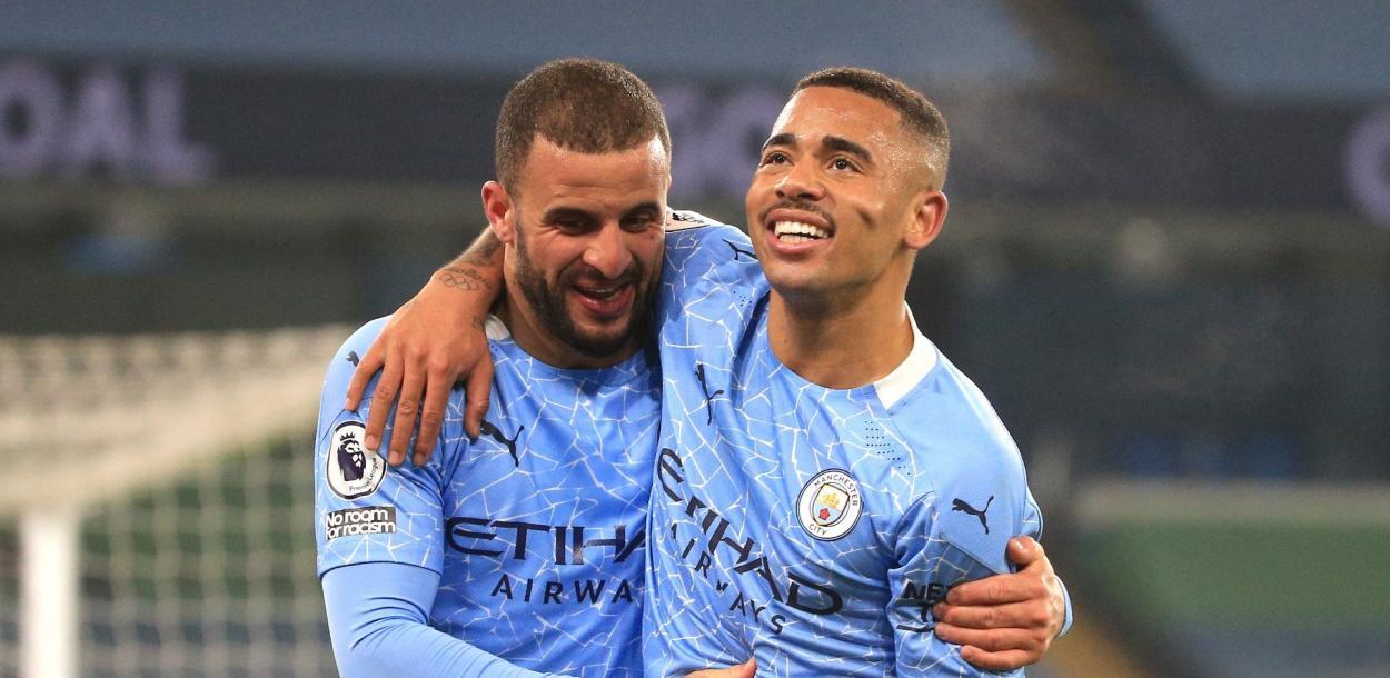 Gabriel Jesús se reencontró con el gol en forma de doblete / FOTO: Manchester City