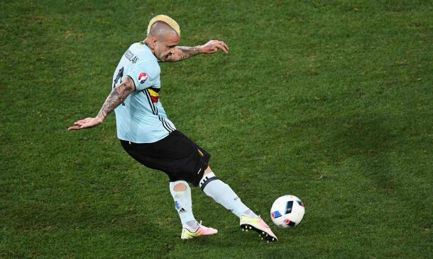 Nainggolan struck a thunderbolt six minutes from time (Photo: Laurence Griffiths/Getty Images)