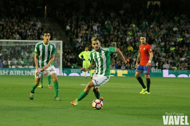 Dani Ceballos en un partido de Liga contra Osasuna I Foto: Raúl Pajares (VAVEL)