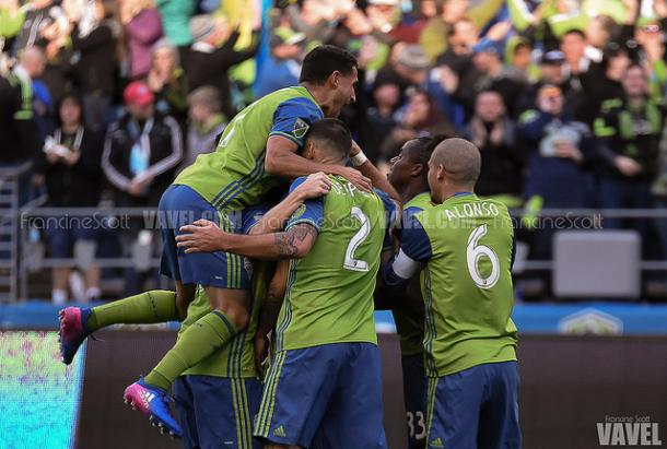 The Sounders picked up their first win of the 2017 season | Source: Francine Scott- VAVEL USA