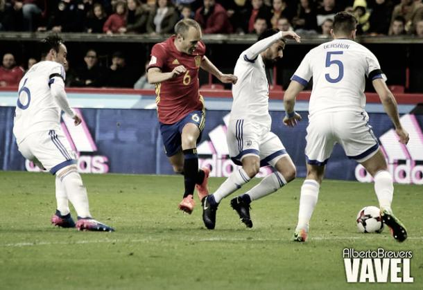 España - Israel | Fuente: VAVEL