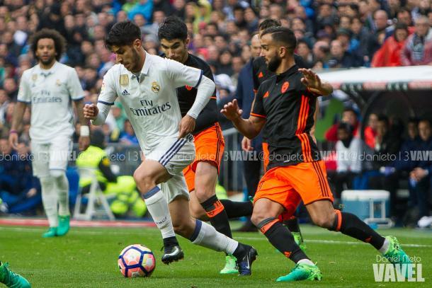 Asensio trata de superar a Montoya y Soler