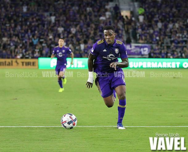 Larin had had a good start to his 2017 MLS season so far | Source; Bernie Walls-VAVEL