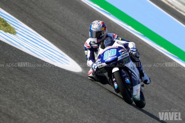Jorge Martín alcanzó su primera victoria en la última carrera de la temporada. | FOTO: Lucas ADSC VAVEL