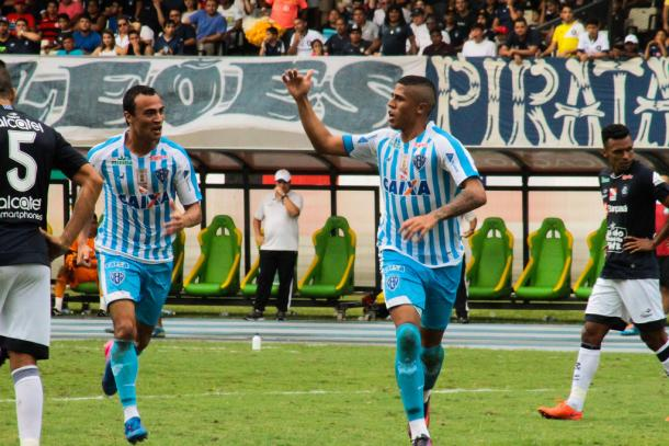 Destaque do Papão em 2017, atacante Bérgson garantiu o bicampeonato (Foto: Fernando Torres/Paysandu)